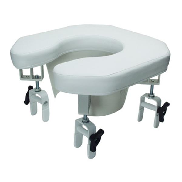 Lumex 6497a Multi Position Open Padded Raised Toilet Seat